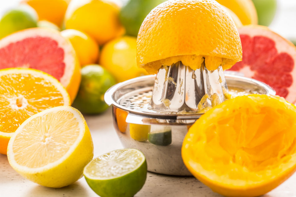 When Was The First Citrus Juicer Invented?